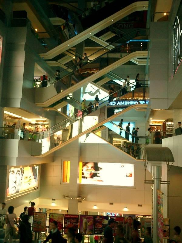 Kaufhaus in Bangkok