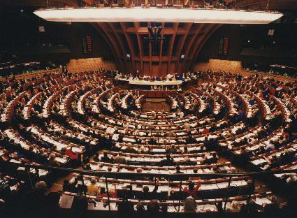 Das EU-Parlament in Strassburg