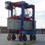 Container unter GPS-Kontrolle