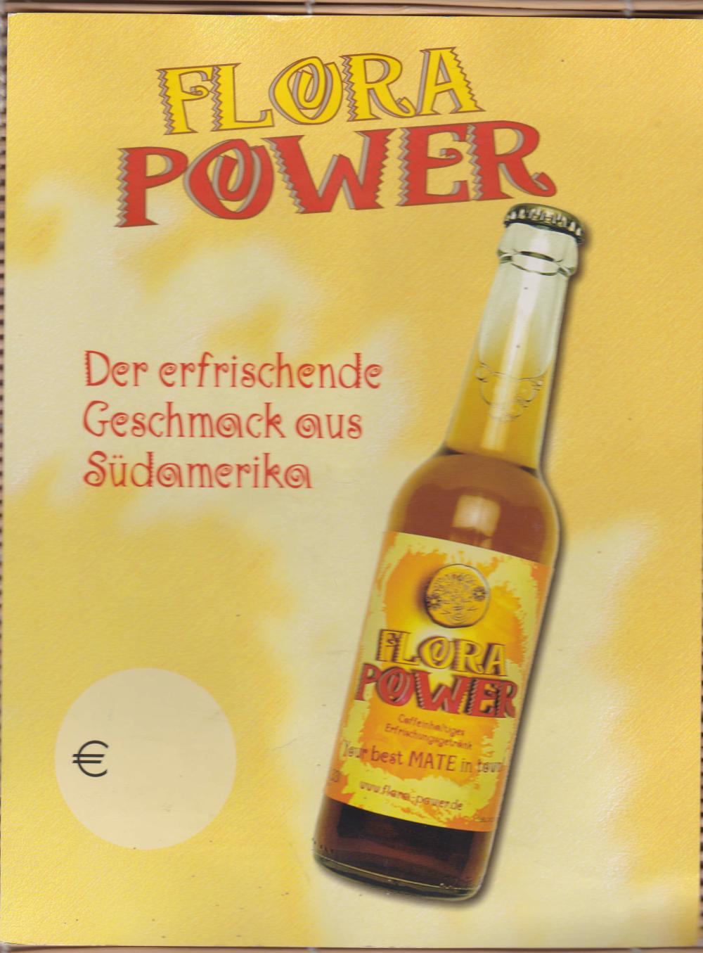 Abbildung 12: Flora Power-Werbung der frühen Jahre