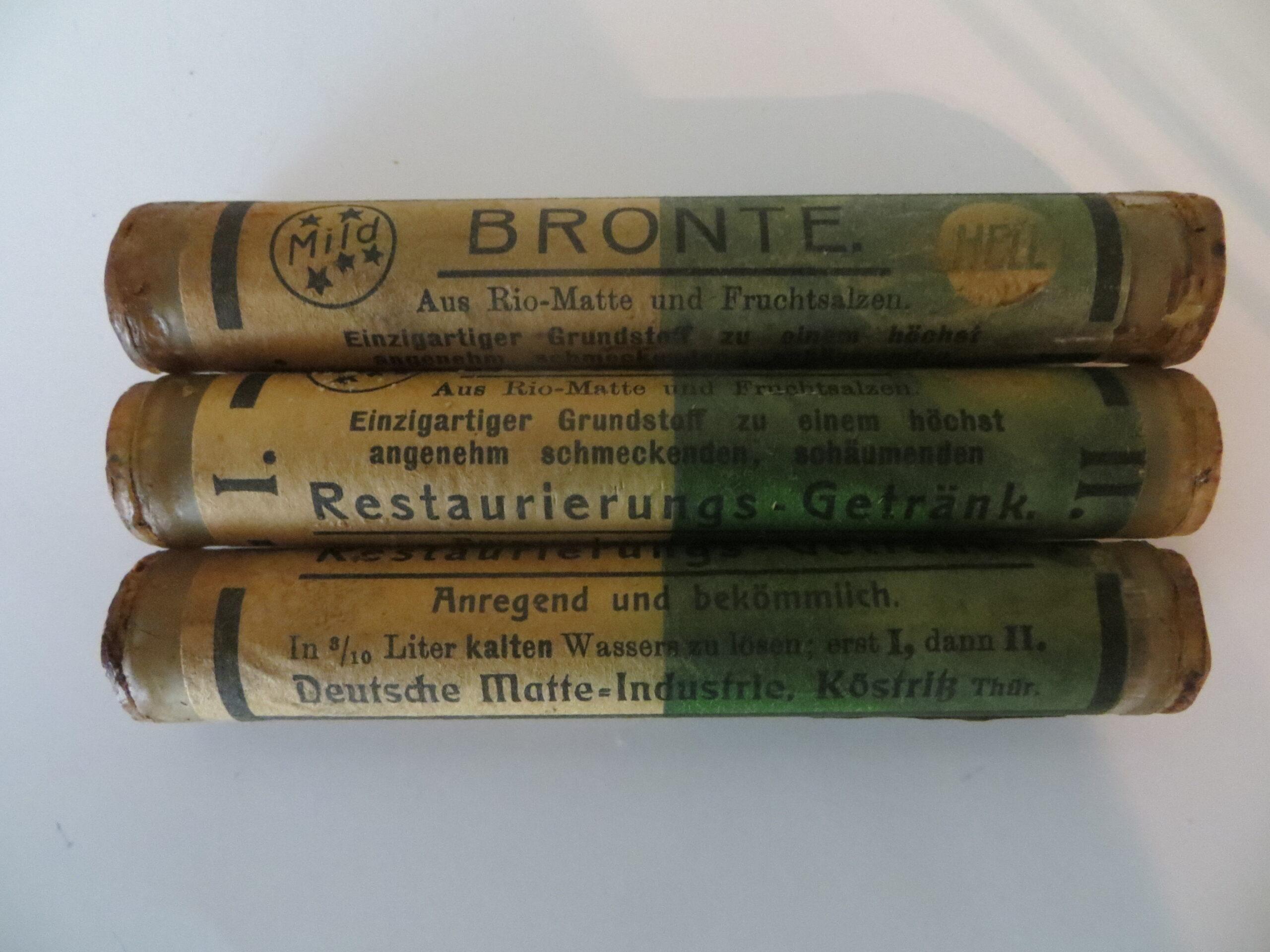 Grundstoff zur Bronte-Herstellung